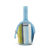 Built Paci-Finder Baby Double Pacifier Holder, Blue Stripe
