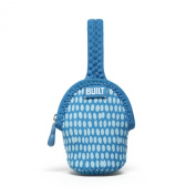 Built Paci-Finder Baby Double Pacifier Holder, Dribble Dots Blue