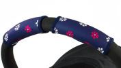Choopie CityGrips Small Single Bar Grip Sleeve Covers for Stroller, Pram, and Buggy Handlebars - Pink Daisy