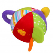 BT-2210 Kids Rattle Toys Handle Rattles Coloured Ball Rattles