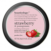 Veka Baby Products-Beauticology Strawberry & Pomegranate Butter by Baylis & Harding 250ml