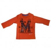 Mexx-Children's Long-Sleeved Shirt Size 74-92 dark red