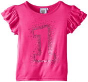 Angels Face Baby-Girls Birthday T No 1 Triple Sleeve T-Shirt