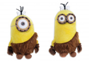Caveman Minions Bundle - 18cm Caveman Kevin AND 18cm Caveman Stuart - 2 ITEMS SUPPLIED