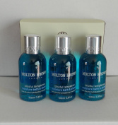 Molton Brown Blissful Templetree Bath & Shower Set 100ml X3