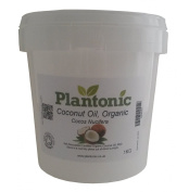 100% Pure ORGANIC Refined Coconut Oil Carrier Oil - 1KG