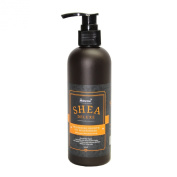 SHEA DELUXE Hair Oil Moisturiser with SHEA BUTTER, ARGAN OIL & MACADAMIA NUT OIL LOTION