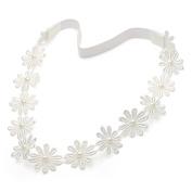 Ivory Daisy Chain Beaded Headband
