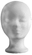 Efalock Styrofoam Head, 2 Pack