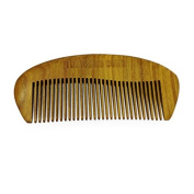 The Original 'The Beard Comb' Beard Comb Hand Made- Engraved- Beautifully Crafted- Sandalwood