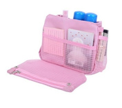 Safeinu Folding Multifunction Make Up Cosmetic Storage Box Stuff Container Bag Case
