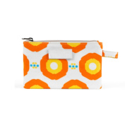 APPLE AND BEE SMALL MAKE UP BAG SUNFLOWER ORANGE