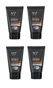 (4 PACK) No7 Men Energising Gradual Tan Moisturiser SPF 15 x 50ml **Despatched within DOUBLE WALL BOX**