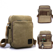 MeCooler Men's Canvas Shoulder for Travel Messenger Crossbody Outdoor Sports Over Shoulder Military Overnight Casual Cross Body Side Gym Pack Bag