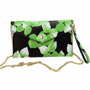 GSPStyle Flower Women Handbag Purse Clutch Bags Cross Body Messenger Shoulder Bag