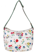 Cath Kidston New Matt Oilcloth Paradise Bunch All Day Bag In White £46.99