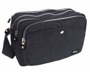 ROCKJOCK by PARIELLA TM LADIES WOMENS CASUAL MULTI POCKET TRAVEL SHOULDER CROSS BODY HAND BAG