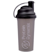 Protein Dynamix high quality Shaker Bottle 700ml capacity grey/black