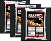 975 TABLETS x CREATINE MONOHYDRATE & ANABOLIC AMINO ACIDS PROTEIN GROWTH PACK - 1st CLASS P & P