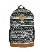 Yiuswoy New Retro Ethnic Style Pattern Design Backpack For Travel And School -Colour E