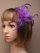 Allsorts® Purple Aliceband Headband Fascinator Ladies Day Races Weddings