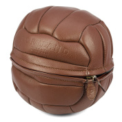 Portland Leather Football Wash Bag