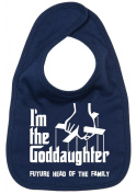 Image is Everything - I'm the Goddaughter... future head of the family - Baby, Toddler, Feeding Bib