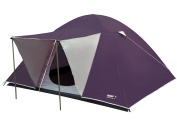 High Peak Texel 3 grey/purple dome tent