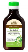 Natural Burdock-Root Oil with Tea-Tree and Rosemary - Helps Reduce Dandruff and Seborrhea - Anti-Inflammatory - Nourishes & Strengthens Hair- 100ml