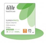 LILLE HEALTHCARE SUPREM Pants Pull Ups Extra (1430ml) Large (100-135cm/39-53in) Pack of 14