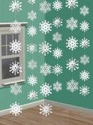 6 x 7ft/213cm Strings - Snowflakes - 672015