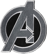 Marvel Avengers Emblem Iron on Sew on Embroidered Patch From PatchWOW