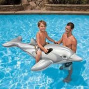 Kids Children Ride On Inflatable Toys Pool Toys Large Jumbo Crocodile Dolphin Whale Rider Ride On Beach Swimming Lilo