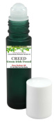 Concentrated Parfum VERSION of *Creed*Green/Irish*Tweed*- Roll On Cologne for Men, Concentrated Parfum Oil in a Green Rollerball Glass Bottle .33 Oz/10ml