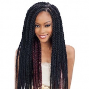 Freetress Equal Synthetic Hair Braids Havana Twist Style Cuban Twist 41cm