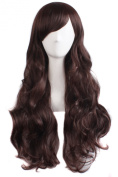 MapofBeauty Charming Women's Long Curly Full Hair Wig