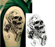 Man'Skull Pattern False Tattoo For Arm SB-1