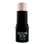 Waterproof Portable Face Facial Highlighter Stick Shimmer Powder Makeup Silver