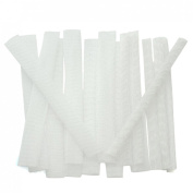 Great Deal(TM) 15 pcs White Makeup Cosmetic Brushes Guard Mesh Protectors Cover