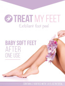 Exfoliating Foot Mask & Peel to Repair Dry & Dead Skin, Remove Callus, Moisturise, Renew Soft As a Baby Foot