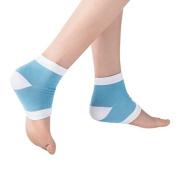 Perfect Star Spa Moisturising Gel Soft Socks Open Toe Dry Cracked Heel Care Skin Repair Therapy Treatment