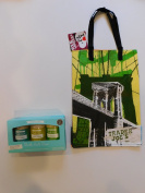 Trader Joes Bath Salt Trio And NY Style Reusable Shopping Bag