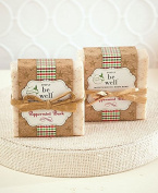 Simply be wellTM Peppermint Bark Holiday Soap