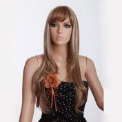 Super Long Blond Women Wig Fashion Female Wigs Best Quality Ladies Wigs Kanekalon Wig Shop 3285b