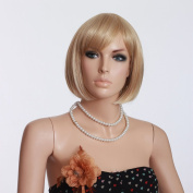 Women Bob Wigs Sunny Blond Wigs Japanese Wigs Kanekalon Hair Wig Hot Wigs for Young Womwn Ladies Wigs 3305b