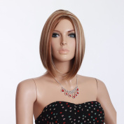 Hot Bob Wigs Synthetic Women Hair Wigs Makers High Quality Natural Hair Wig Wholesale 3750b