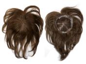 100% Human Remy Hair Top Pieces Top Closure VOLUMAX3 10~28cm Colour#1B - Off Black