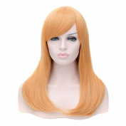 Women Ladies Long Straight Full Synthetic Cosplay Wigs Hair Anime Coser Wig