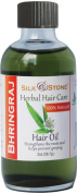 Silk & Stone 100% Pure & Natural Bhringraj Oil for Healthy, Long, Lustrous Hair.