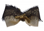 Women's Se7en Deadly Peace Maker Hair Bow Beige